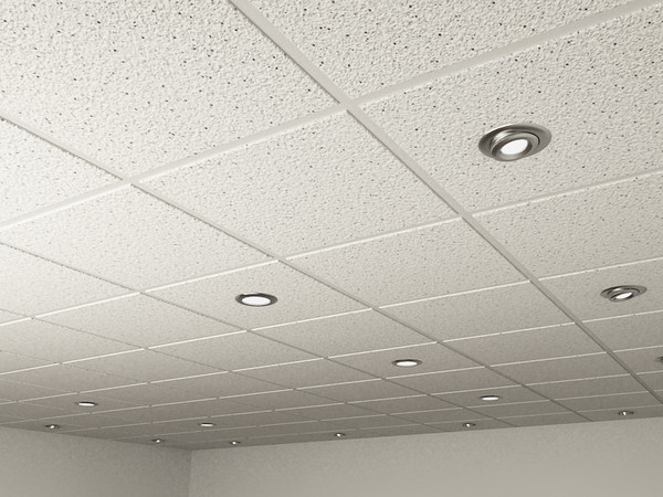 ceiling tiles lights photo - 4