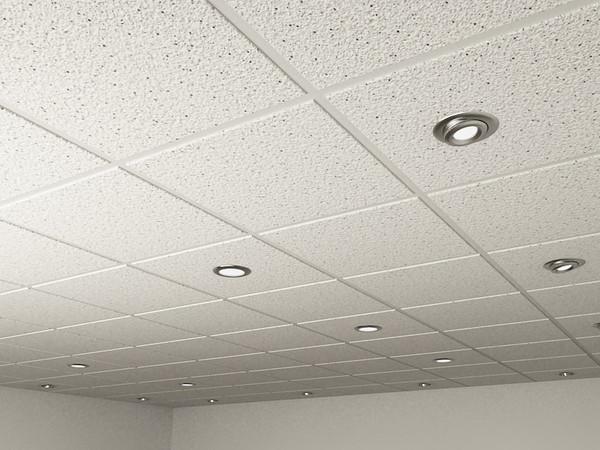 ceiling tiles lights photo - 4