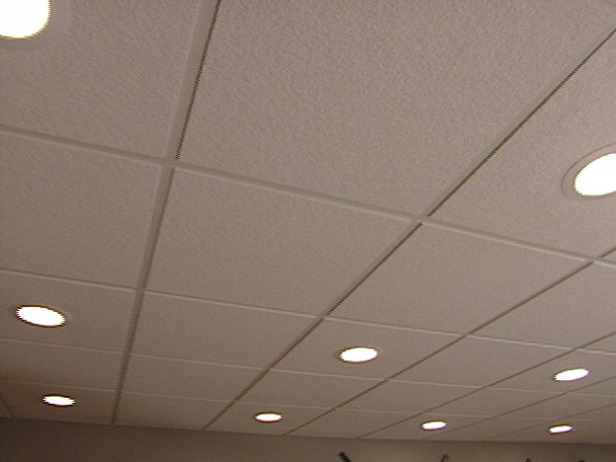 ceiling tiles lights photo - 6