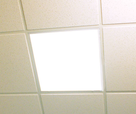 ceiling tiles lights photo - 7