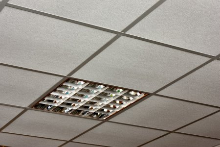 ceiling tiles lights photo - 8