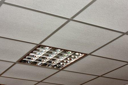 ceiling tiles lights photo - 8
