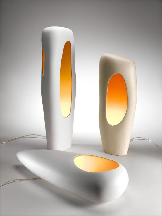 ceramic floor lamps photo - 2