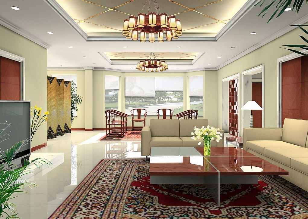 Choosing chandelier ceiling lights for different rooms for Different interior designs of houses