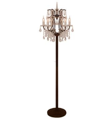 chandelier floor lamps photo - 1