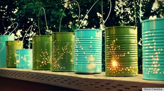 cheap outdoor lighting ideas photo - 3