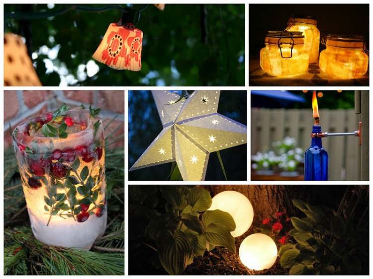 cheap outdoor lighting ideas photo - 5