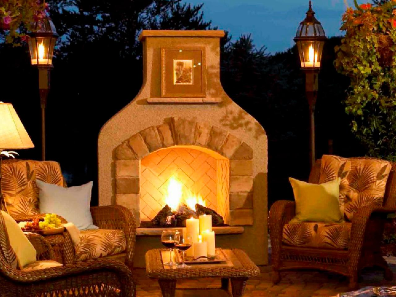 cheap outdoor lighting ideas photo - 6
