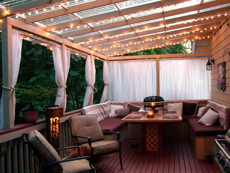 cheap outdoor lighting ideas photo - 8