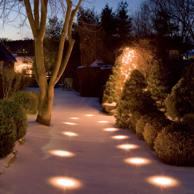 cheap outdoor lighting ideas photo - 9