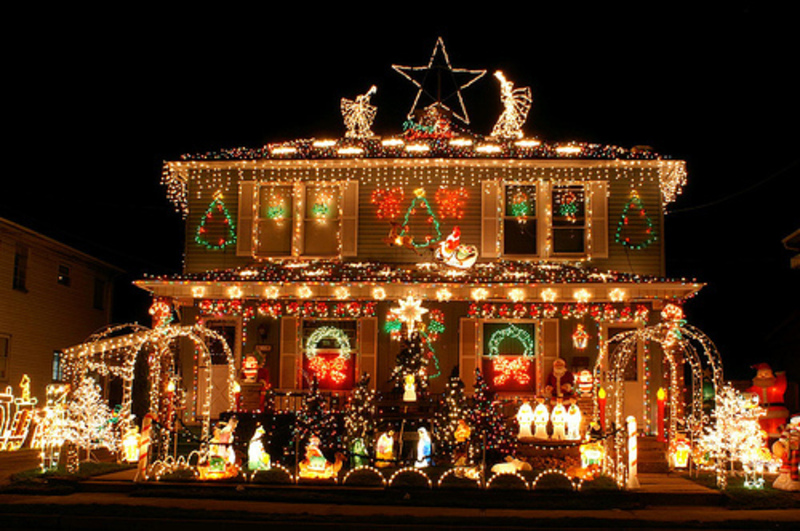 cheap outdoor xmas lights photo - 10