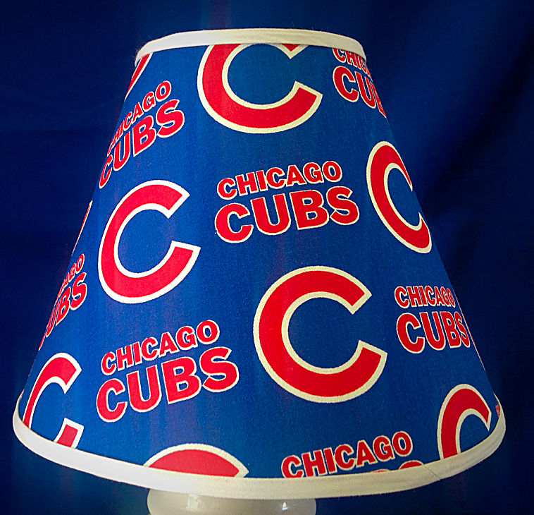 chicago cubs lamp photo - 10