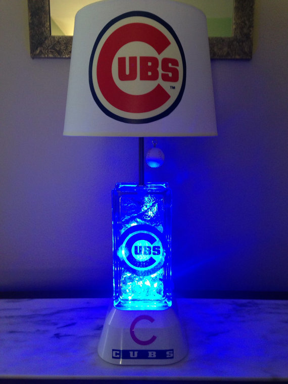 chicago cubs lamp photo - 3