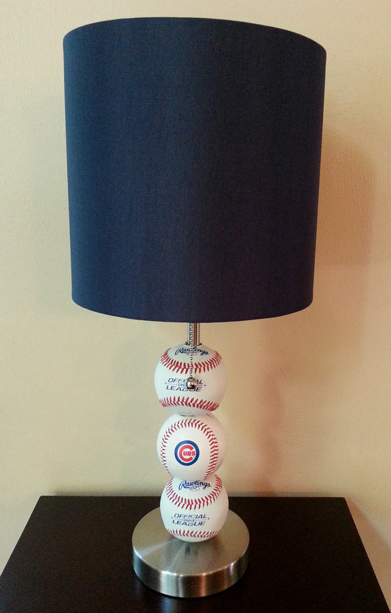 chicago cubs lamp photo - 4
