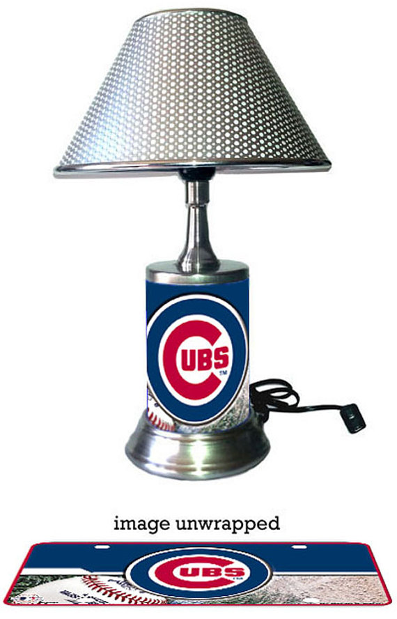 chicago cubs lamp photo - 5