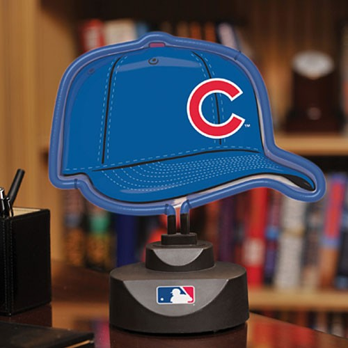 chicago cubs lamp photo - 9