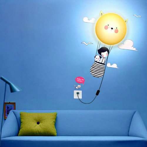 children wall lights photo - 10
