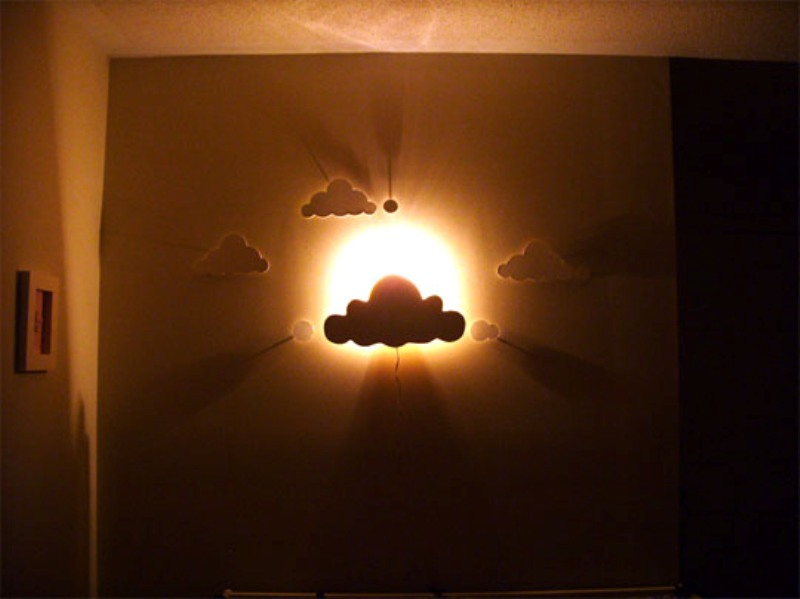 children wall lights photo - 2