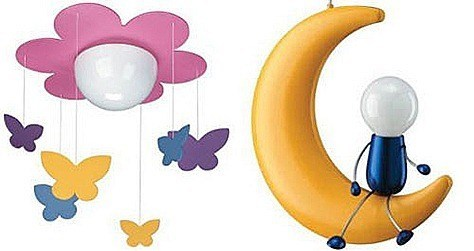 childrens light shades ceiling photo - 1