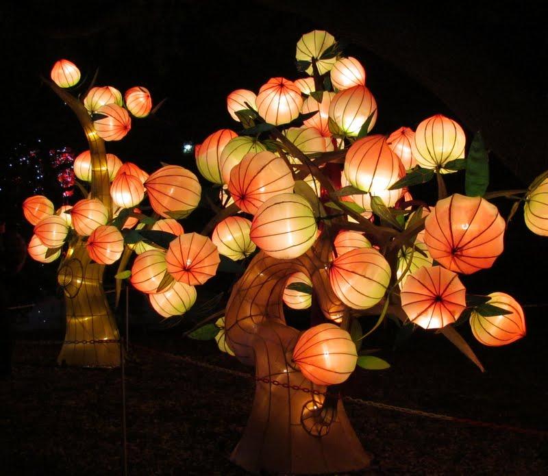 chinese lantern lamp photo - 1