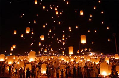 chinese lantern lamp photo - 3