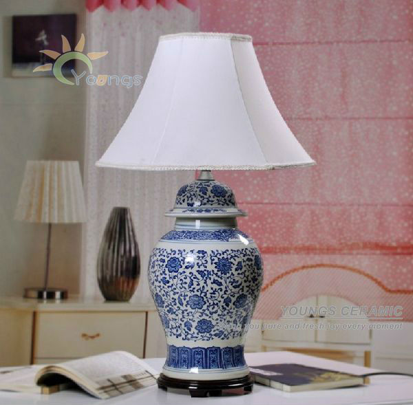 chinese table lamps photo - 10