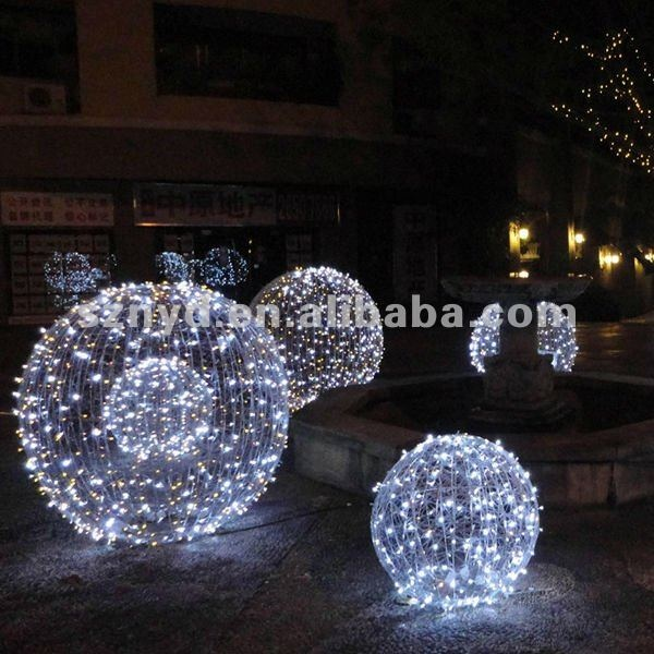 Outdoor Christmas Ball Lights – Home design and Decorating