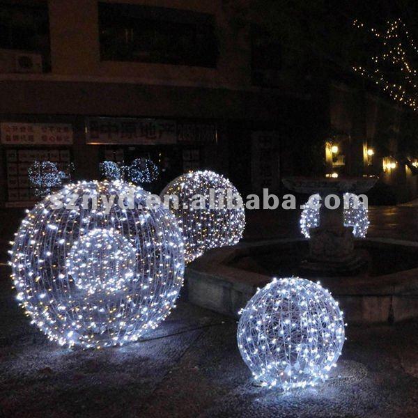 Christmas Ball Lights Outdoor Warisan Lighting