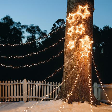 christmas cluster lights outdoor photo - 8
