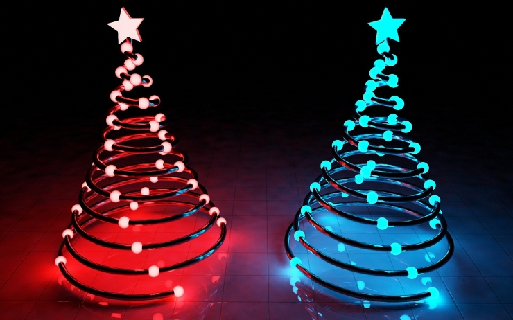 christmas lamps photo - 9