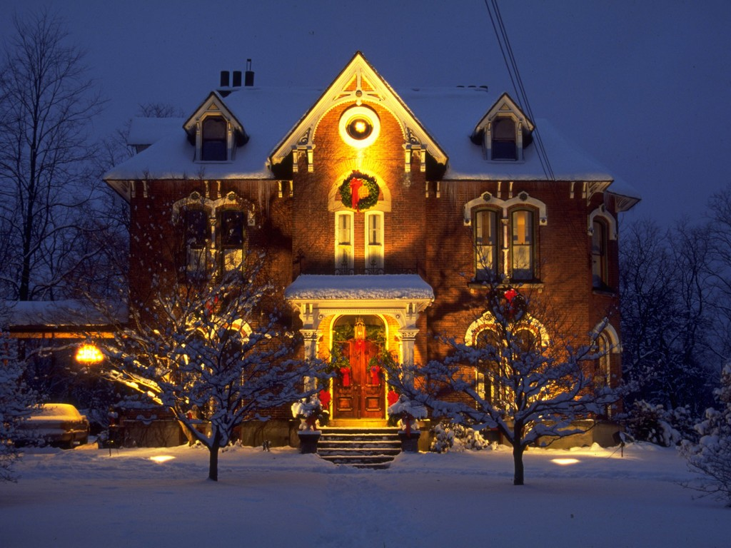 christmas lighting outdoor photo - 6