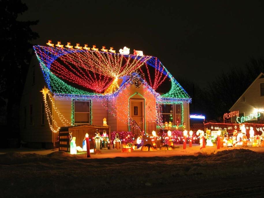 christmas lighting outdoor photo - 8