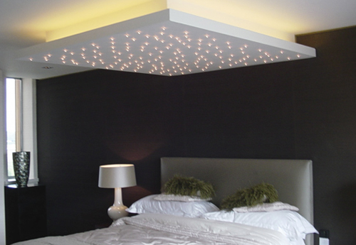 Christmas Lights On Bedroom Ceiling Ways To Express Happiness - Christmas lights on bedroom wall