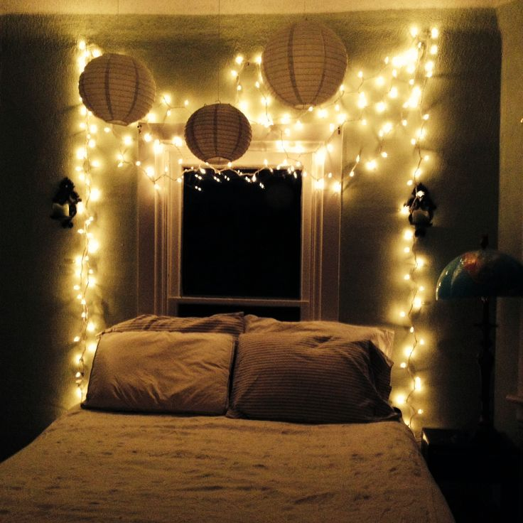 Christmas Lights On Bedroom Ceiling