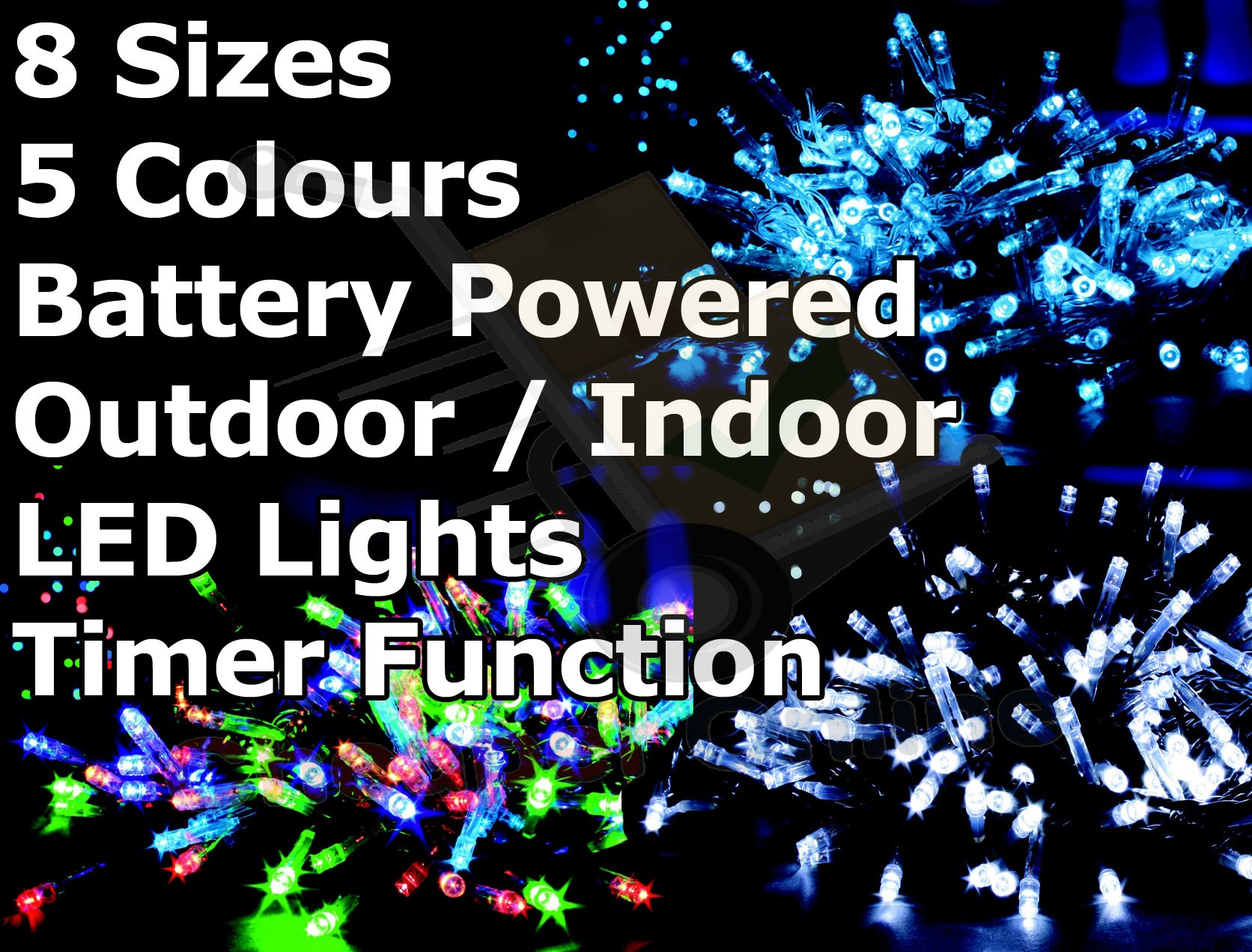 Battery Operated Christmas Lights Outdoor: christmas lights outdoor battery operated photo - 1,Lighting