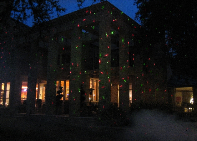 christmas outdoor laser lights photo - 10