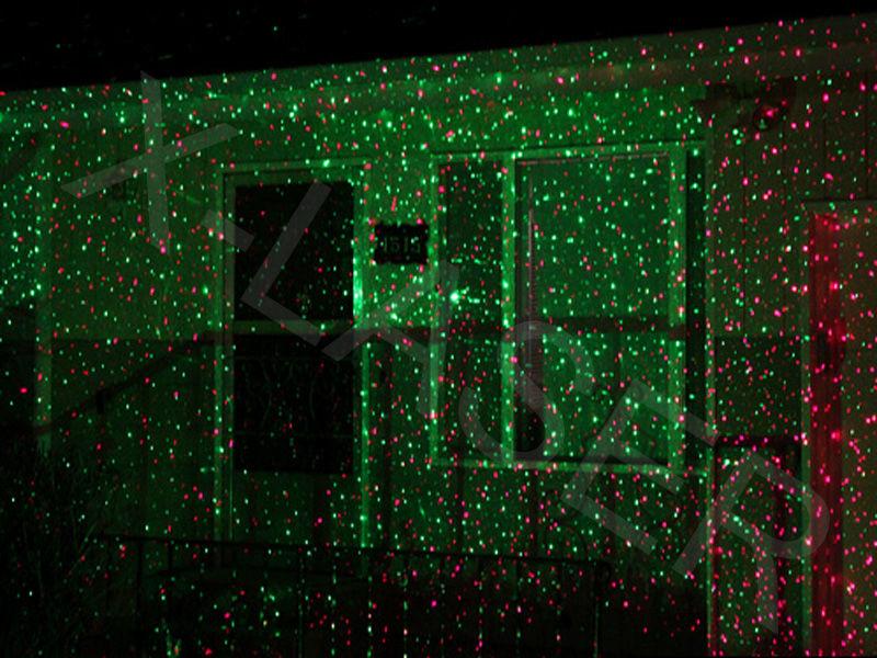 christmas outdoor laser lights photo - 2