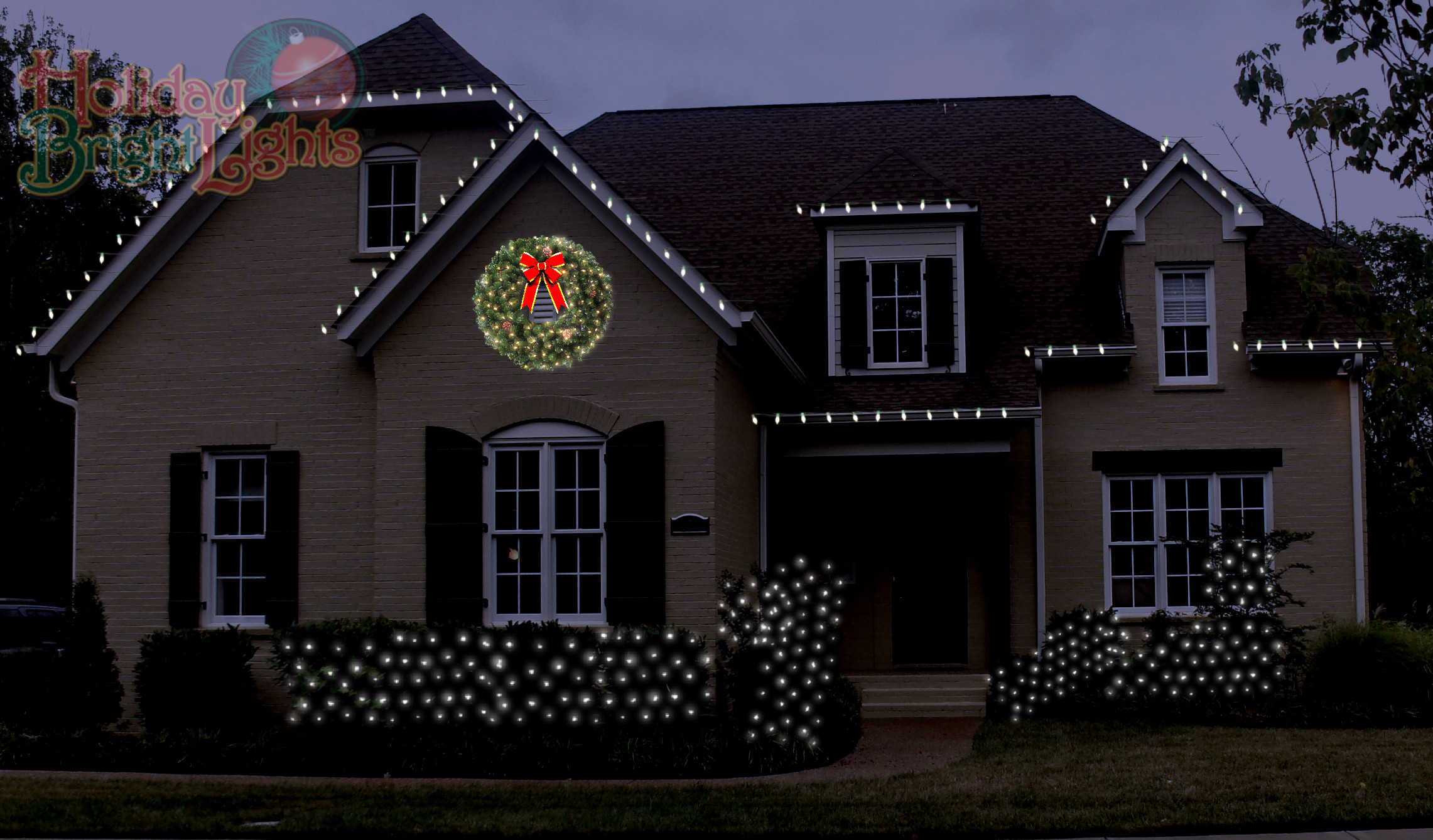 christmas outdoor led lights photo - 2