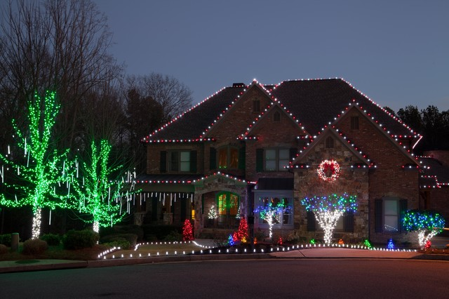 christmas outdoor led lights photo - 5