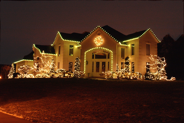 christmas outdoor led lights photo - 9
