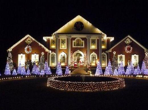 christmas outdoor light photo - 7