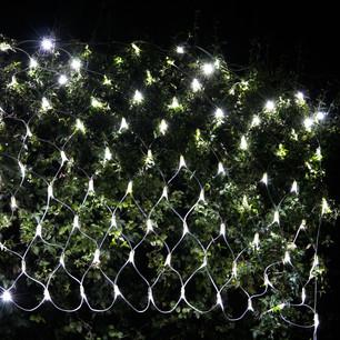 christmas outdoor net lights photo - 1