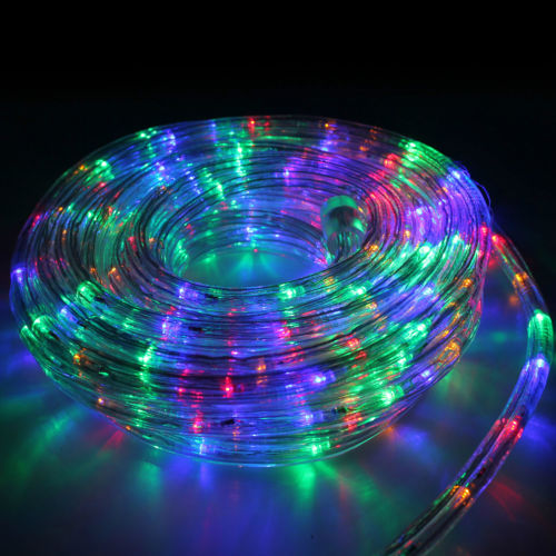 christmas outdoor rope lights photo - 2
