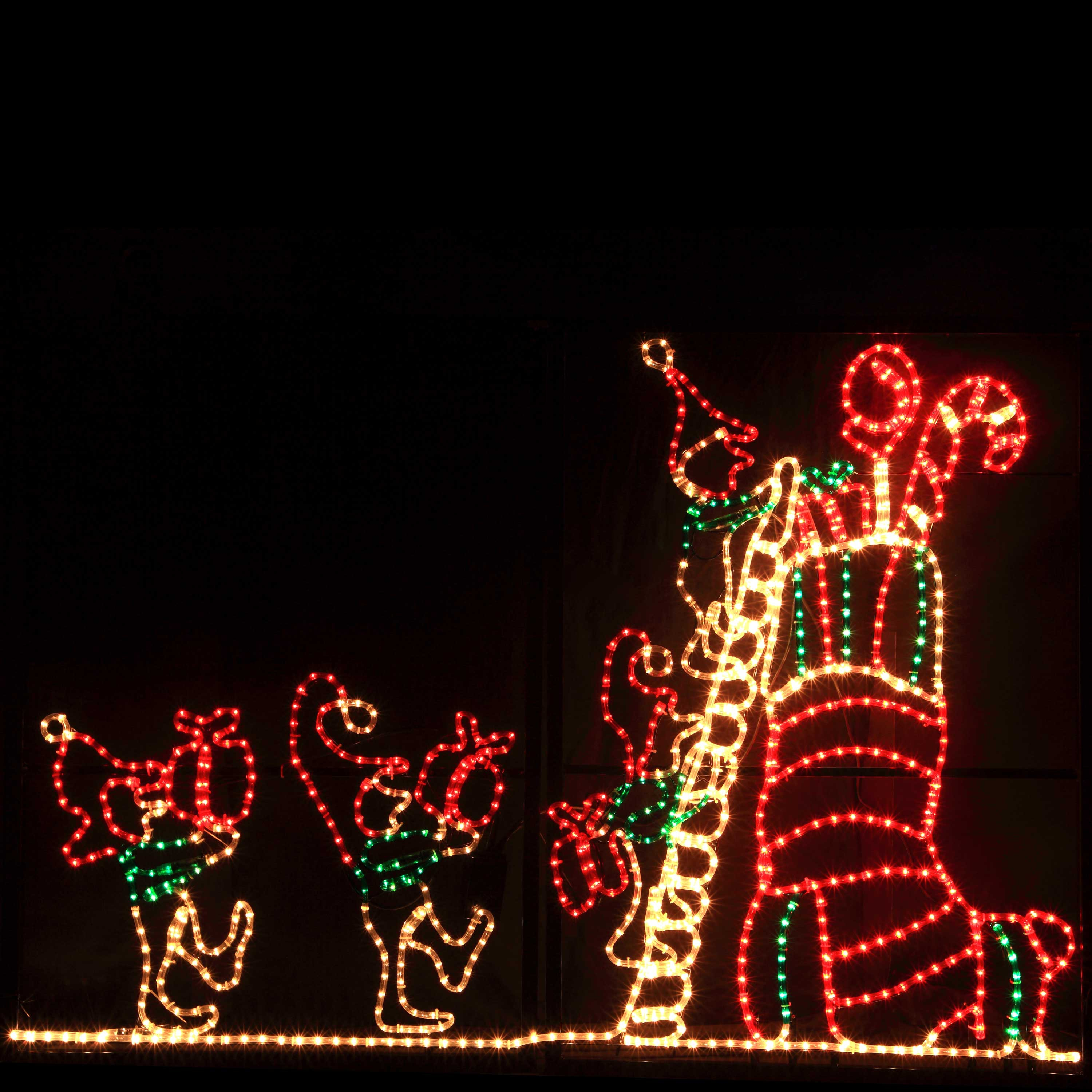 christmas outdoor rope lights photo - 3