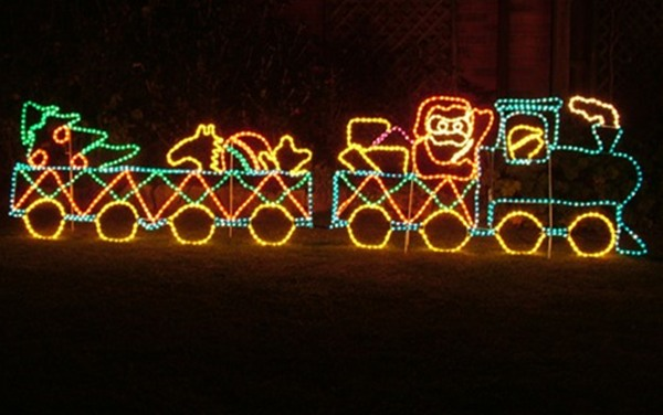 christmas outdoor rope lights photo - 6