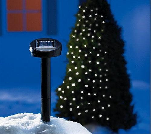 christmas outdoor solar lights photo - 1