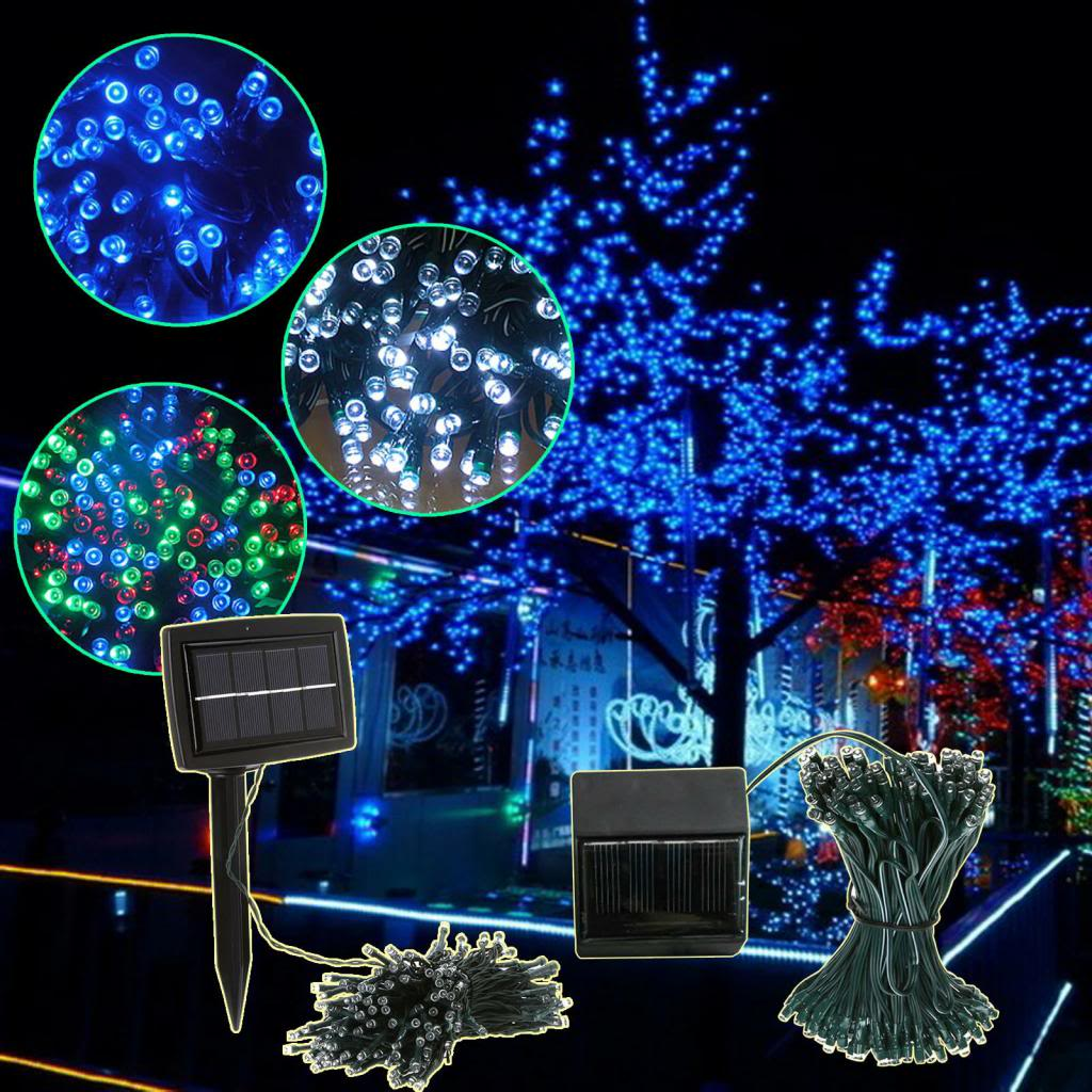 Exterior Solar String Lights : 10 tips that will guide you in choosing Christmas outdoor solar lights Warisan Lighting