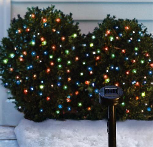 christmas outdoor solar lights photo - 5