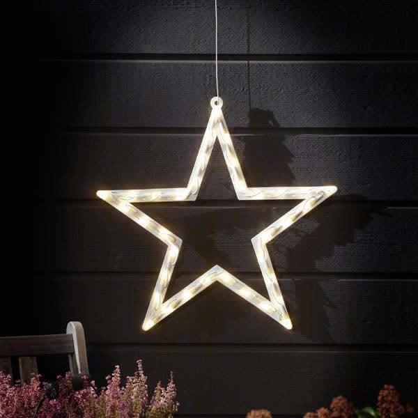Christmas Outdoor Star Lights Photo 10