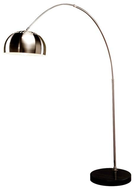 chrome floor lamps photo - 1